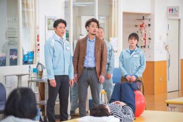 「ドラマBiz『スパイラル~町工場の奇跡~』」第4話場面写真=テレビ東京提供