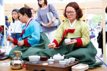 韓国の茶礼を楽しもう