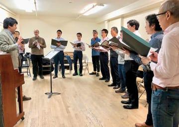 MGCNYはニューヨーク地区の男声4部合唱団で、曲のレパートリーが幅広いのが特徴