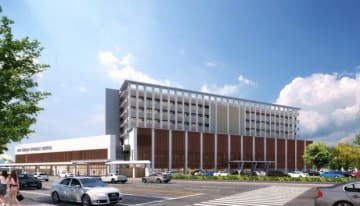 日本の協力で「ヤンゴン新専門病院」が建設される(JICA提供)