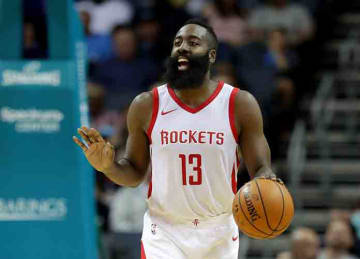 James Harden scores career-high 56 points