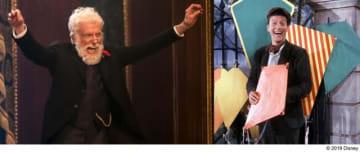 『メリー・ポピンズ リターンズ』でのディック・ヴァン・ダイク(左)&『メリー・ポピンズ』でのディック・ヴァン・ダイク(右)