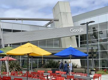 米グーグルの本社=6日、カリフォルニア州マウンテンビュー(共同)