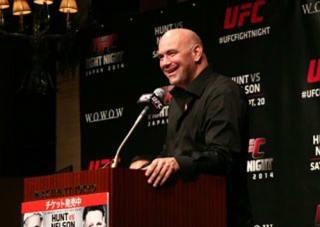 UFC ディナ・ホワイト代表