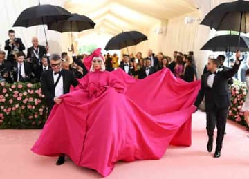 Headline : met gala 2019 NY Caption : The 2019 Met Gala Celebrating Camp: Notes On Fashion at The Metropolitan Museum of Art on May 06, 2019 in New York City. PersonInImage : Lady Gaga Credit : Andres Otero/WENN.com