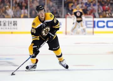 David Pastrnak Scores Twice in Bruins' 4-3 OT Win vs Panthers
