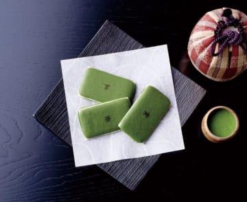 これが茶の菓。京都みやげの定番だ