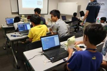 プログラミング教室のようす
