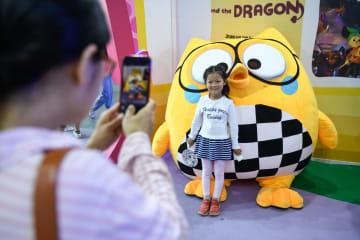 中国国際アニメ·マンガフェス、規模·人数·取引額など過去最高に