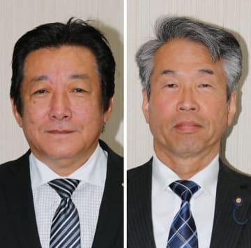 真野博文氏(左)と小野光三氏