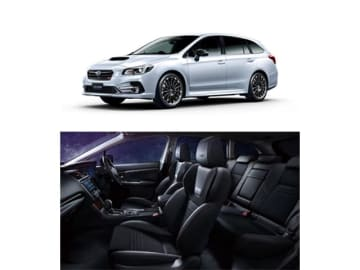SUBARUレヴォーグがマイナーチェンジを受け、同時に発表した特別仕様車の2.0 STI Sport Black Selection、405.0万円