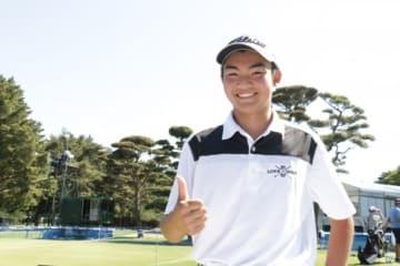 カズマ・コボリ 17歳でニュージーランドPGA選手権を制覇したアマチュアが日本初参戦(撮影:ALBA)