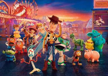 劇場版アニメ「トイ・ストーリー4」のビジュアル (C)2019 Disney/Pixar. All Rights Reserved.