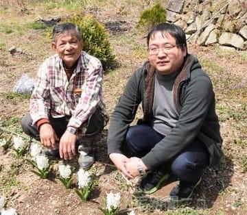 「なんもくBOX」を立ち上げる賀籠六さん(右)と事業を応援する伊藤さん