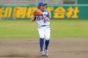 愛知ディオーネの岩見香枝【写真提供:日本女子プロ野球リーグ】