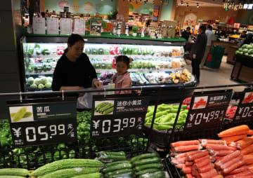 中国の4月CPI、2·5%上昇