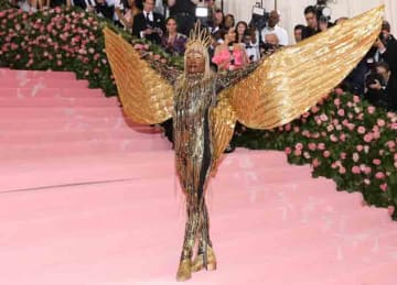 The 2019 Met Gala Celebrating Camp: Notes On Fashion at The Metropolitan Museum of Art on May 06, 2019 in New York City: Billy Porter