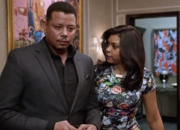 Terrence Howard and Taraji P. Henson on 'Empire'