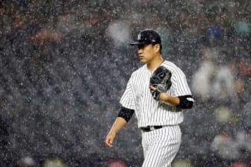 マリナーズ戦に先発したヤンキース・田中将大【写真:Getty Images】