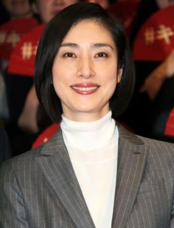 ドラマ「緊急取調室」に主演する女優の天海祐希さん