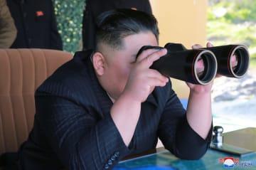 朝鮮が軍事訓練実施、金正恩氏が再び指導