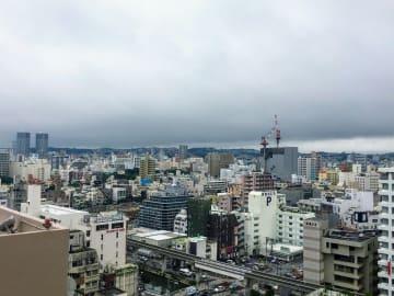 時おり雨が降る一日でした。あすも曇りや雨が続く見込みです