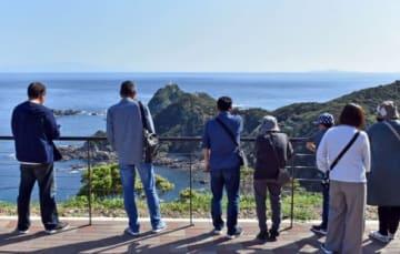 大型連休中、観光客でにぎわった佐多岬=南大隅町佐多馬籠