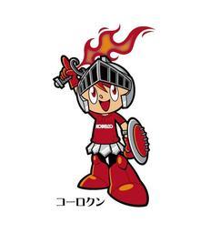 神戸製鋼コベルコスティーラーズのマスコット「コーロクン」