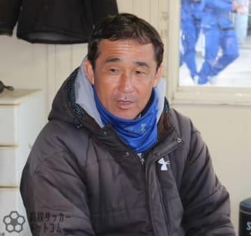 鹿児島城西高校・小久保悟総監督