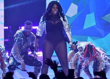 NEW YORK, NY - JULY 11: Remy Ma performs onstage during the VH1 Hip Hop Honors: All Hail The Queens at David Geffen Hall on July 11, 2016 in New York City. (Photo by Theo Wargo/Getty Images for VH1)
