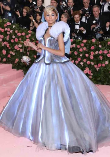 The 2019 Met Gala Celebrating Camp: Notes On Fashion at The Metropolitan Museum of Art on May 6, 2019 in New York City.: Zendaya