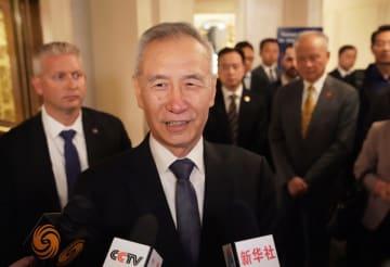 決裂はなく協議続ける 中米協議で劉鶴氏