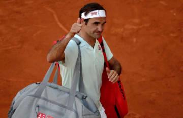 「ATP1000 マドリード」でのフェデラー