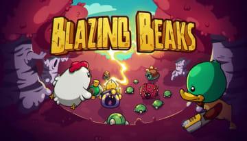 戦う鳥のローグライトACT『Blazing Beaks』正式リリース―八方から迫る敵を撃ちまくれ