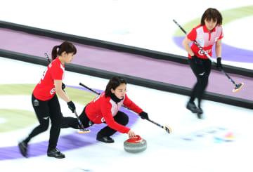 中国、日本に敗れ決勝進出逃す カーリングW杯ファイナル女子