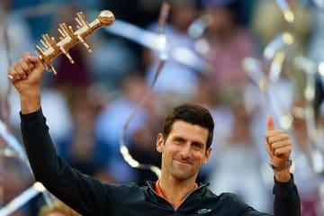 「ATP1000 マドリード」でのジョコビッチ