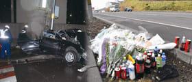 「飲酒運転」の厳罰化が進む中、室蘭署管内でも悲劇が発生した=左は平成28年1月、室蘭市東町。右は平成29年11月、登別市若山町