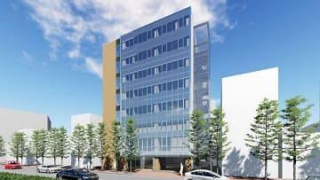 県歯科医師会が建設する新会館の完成イメージ図