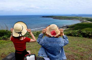 澎湖の風景が観光客を魅了