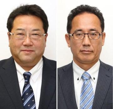 蓮岡靖之氏(左)と小倉弘行氏