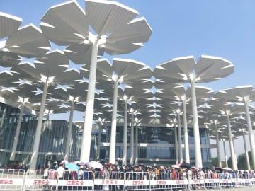 北京園芸博、観光客でにぎわう人気スポットに
