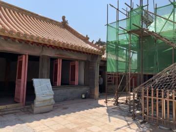 瀋陽故宮の太廟修繕工事、見学イベント開催 遼寧省瀋陽市