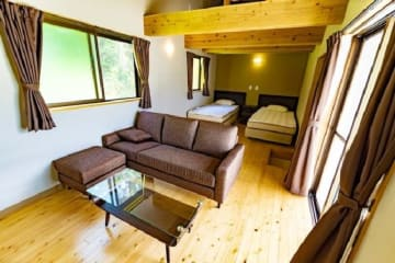 ホテル「カラカウア」のコテージタイプの客室(同ホテル提供)