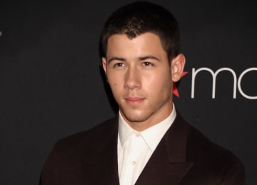 Nick Jonas Attends Fashion Rocks 2014