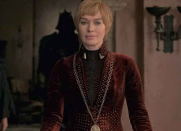 Lena Headey as Cersei Lannister on 'Game Of Thrones'