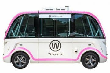 ウィラーはシンガポールで6月から自動運転車の実証実験を開始する(同社提供)