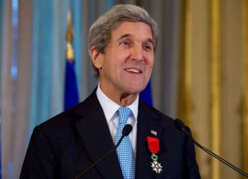 John Kerry Author: U.S. Department of State from United States (Wikipedia)