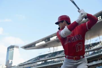 復帰後初本塁打を含む4出塁と活躍を見せたエンゼルス・大谷翔平【写真:Getty Images】