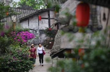松漑古鎮を訪ねて 重慶市永川区