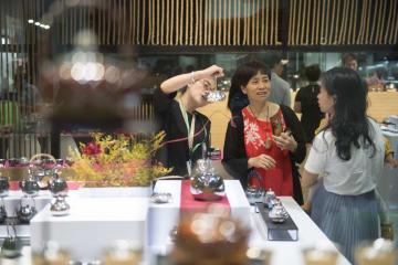 「第3回中国国際茶葉博覧会」開幕 浙江省杭州市